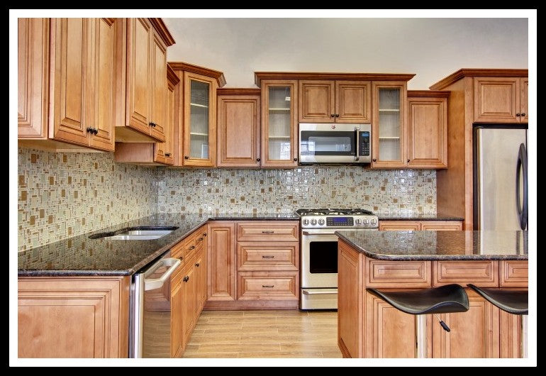 solid plywood kitchen cabinets cinnamon maple solid plywood rta cabinets rta quality 26451