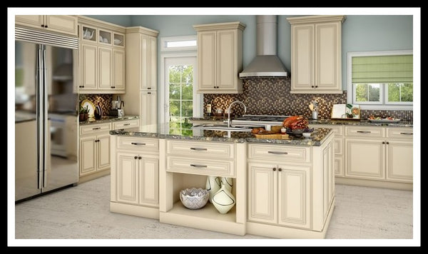 Attirant Kitchen Cabinets, Example In Lenox Country Linen