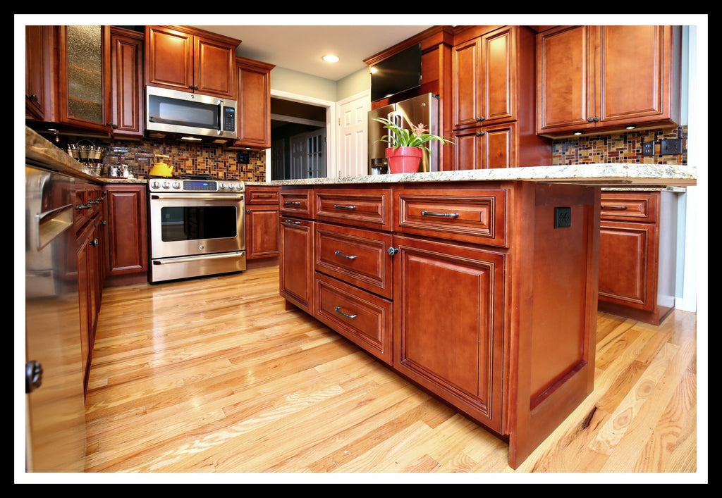 Lenox mocha solid plywood rta cabinets rta quality cabinets for Quality kitchen cabinets