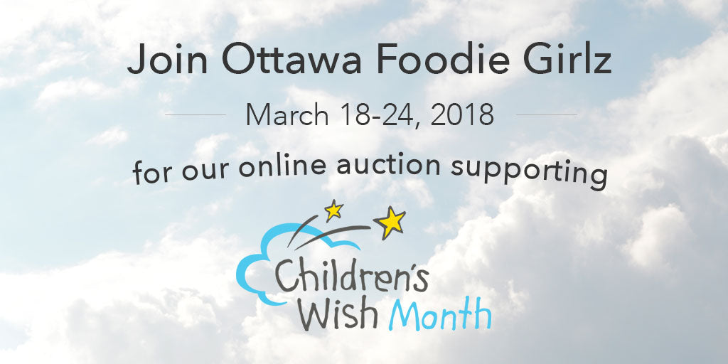 New fundraiser this March supporting the Children's Wish Foundation