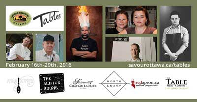 Savour Ottawa Winter Tables