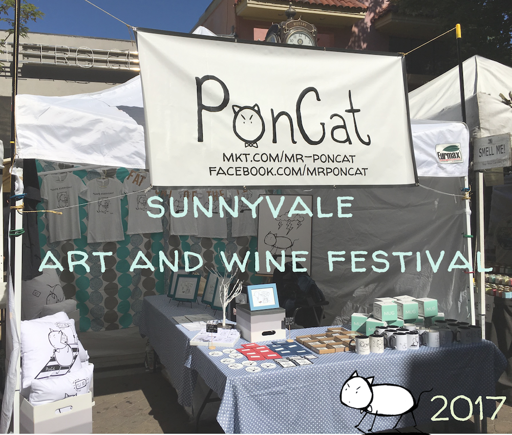 My Sunnyvale Art and Wine Festival 2017 Experience!