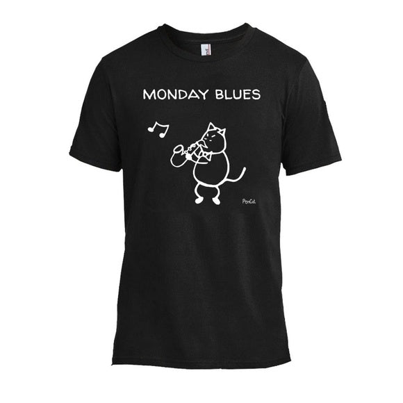 """Monday Blues"" Unisex Tee"