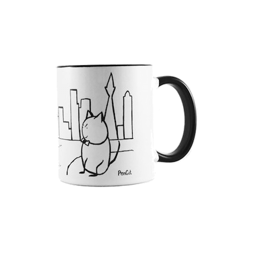 PonCat in San Francisco Mug