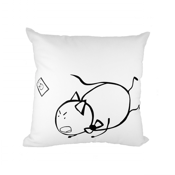 PonCat Falls Throw Pillow