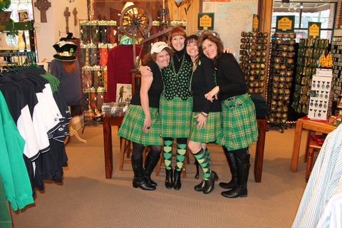 All Things Irish and the Green Kilts