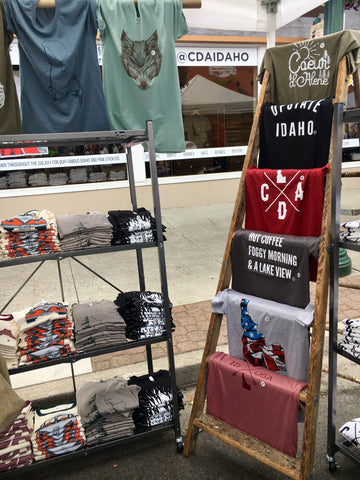 Shirt Stands @CDAIDAHO