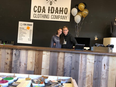 Grand opening - CDA Idaho Clothing Co.