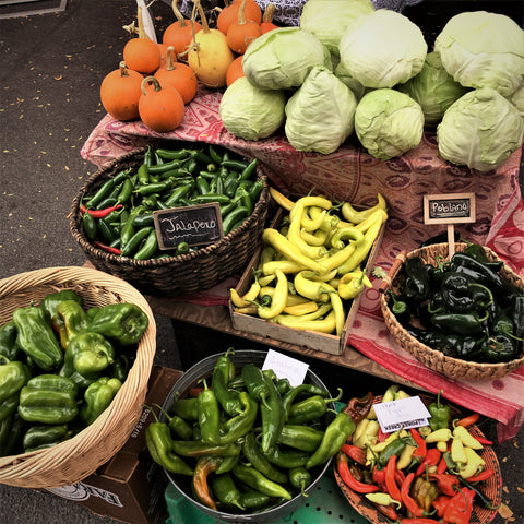 Farmers Market Peppers