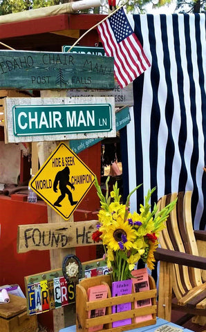 Idaho Chair Man BigFoot