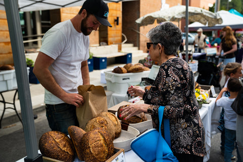 Farmers Market Bread Sale