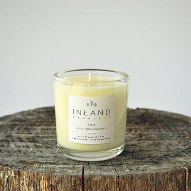 Inland Candle - 002  Wild Honeysuckle