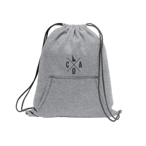 Athletic Heather Hoodie Cinch Pack