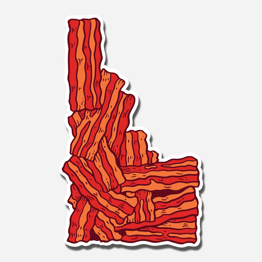 Idaho Bacon Sticker