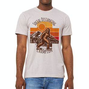 Social Distancing Champion BigFoot Tee (PRESALE!)