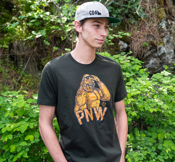 PNW Bigfoot Tee