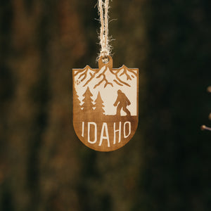 Idaho Bigfoot Mountains Ornament