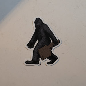 Idaho Bigfoot Vinyl Magnet