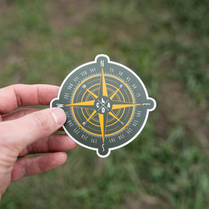 CDA Compass Sticker