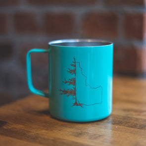 Mint Idatree Townie Insulated Mug