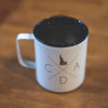 White Fine Logo Townie Insulated Mug