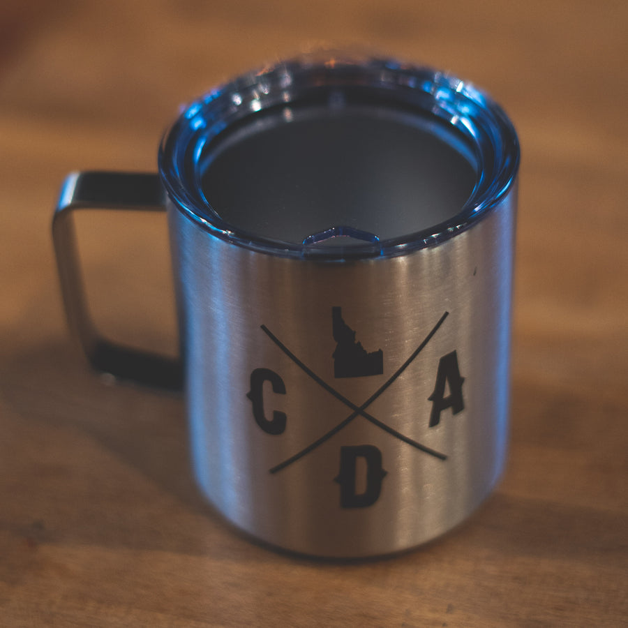 Stainless Bold Logo Townie Insulated Mug