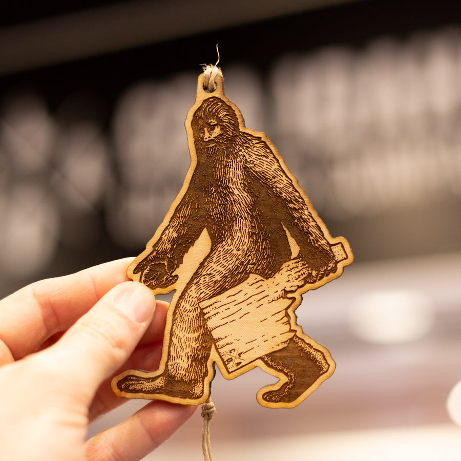 Idaho Bigfoot Ornament