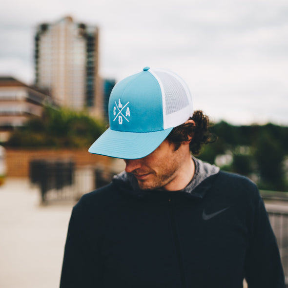 Columbia Blue Logo Mesh Hat