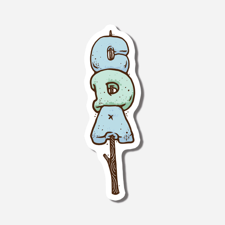 CDA Marshmallow Roasting Sticker