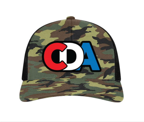 CDA Space Program Camo Hat