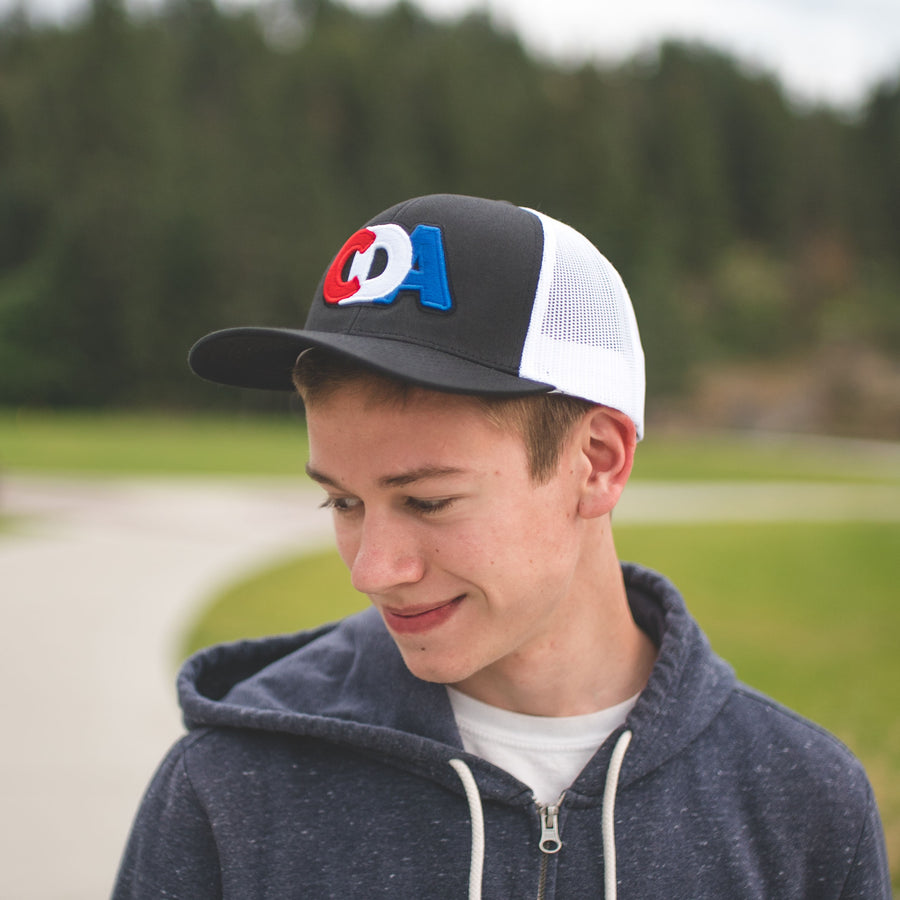 CDA Space Program Black Curved Hat