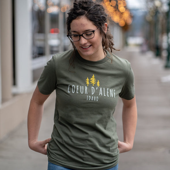 Coeur d'Alene Cotton Tourist Tee