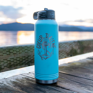 CDA Anchor Matte Seafoam Insulated 32oz Flask