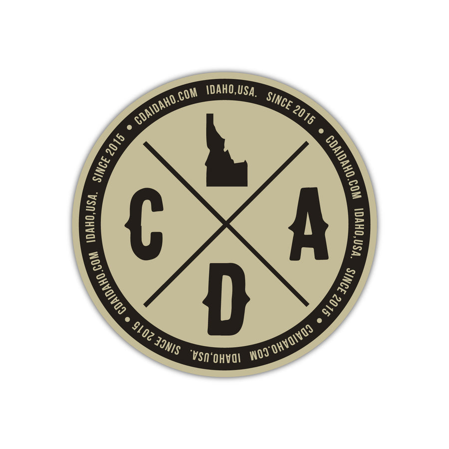CDA Logo Since 2015 Sticker