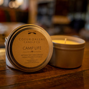 CDA Candle Co Camp Life 8oz Soy Candle