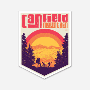 Canfield Mountain Sticker
