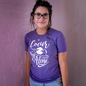 Purple CDA Night Tubbs Tee