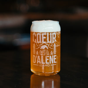 Coeur d'Alene Camping Pint Glass