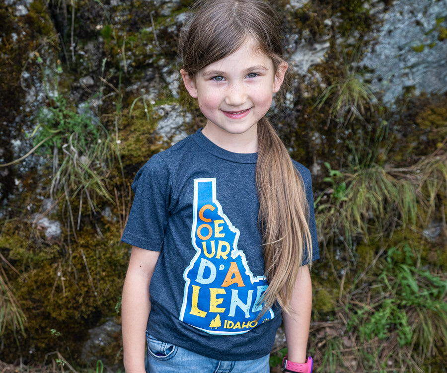 Coeur d'Alene Is For Kids Tee