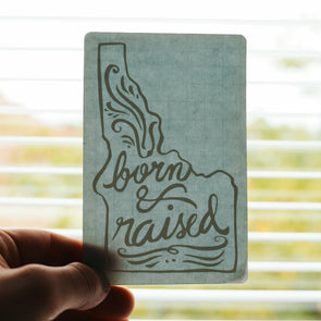 Born & Raised Decal