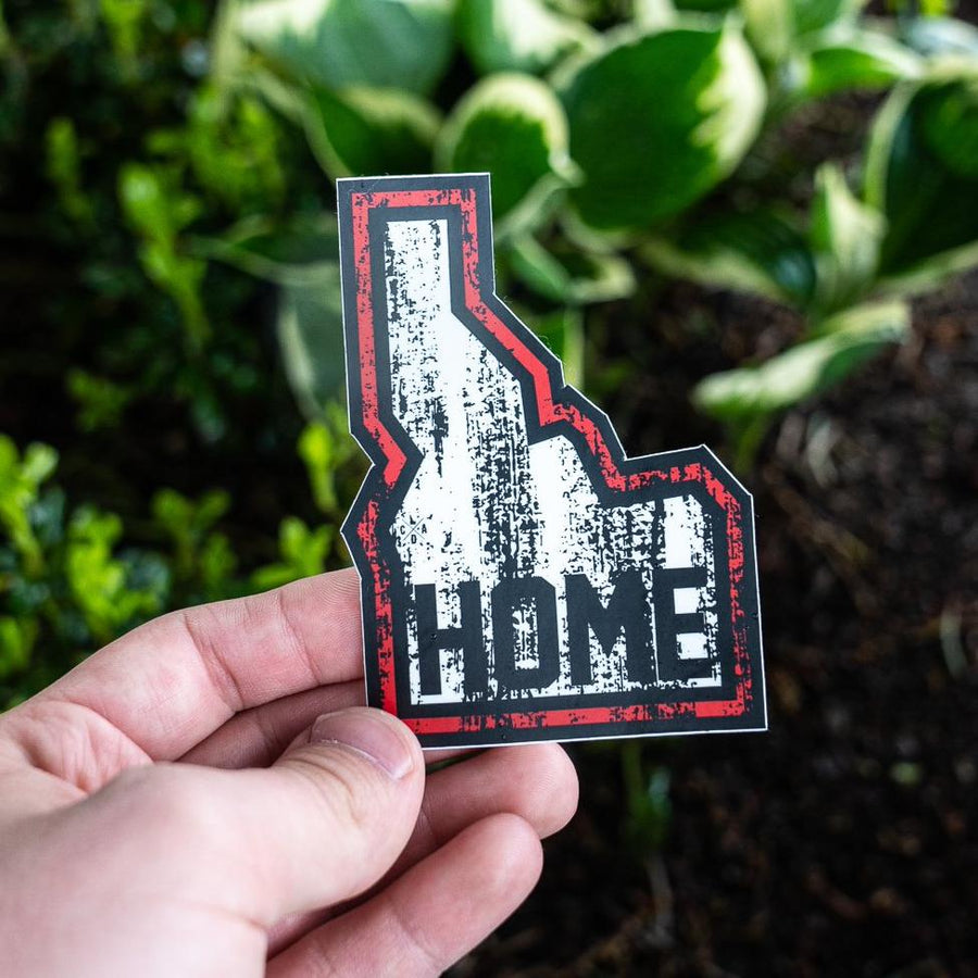 Idaho Home Grunge Sticker