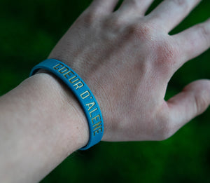 CDA Idaho Rubber Bracelet - Deep Teal