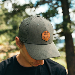 Loden Heather Perf Hat, CDA By The Lake Patch