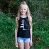 Girls Black IdaTree Tank