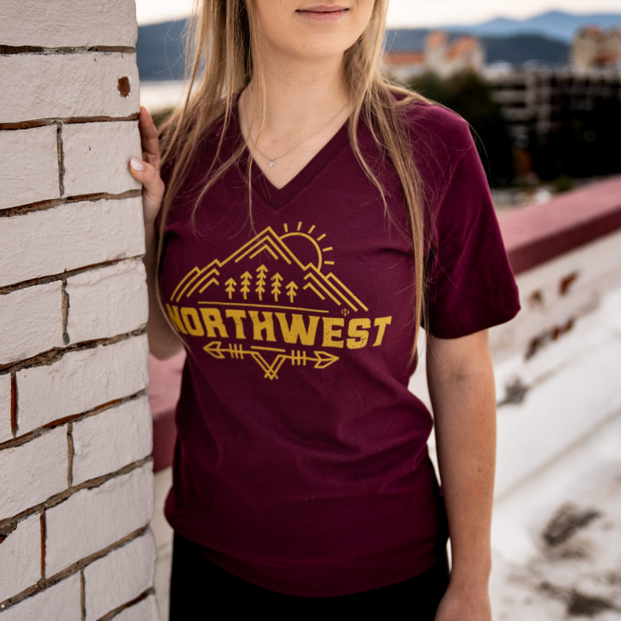Epic Northwest V-Neck Tee
