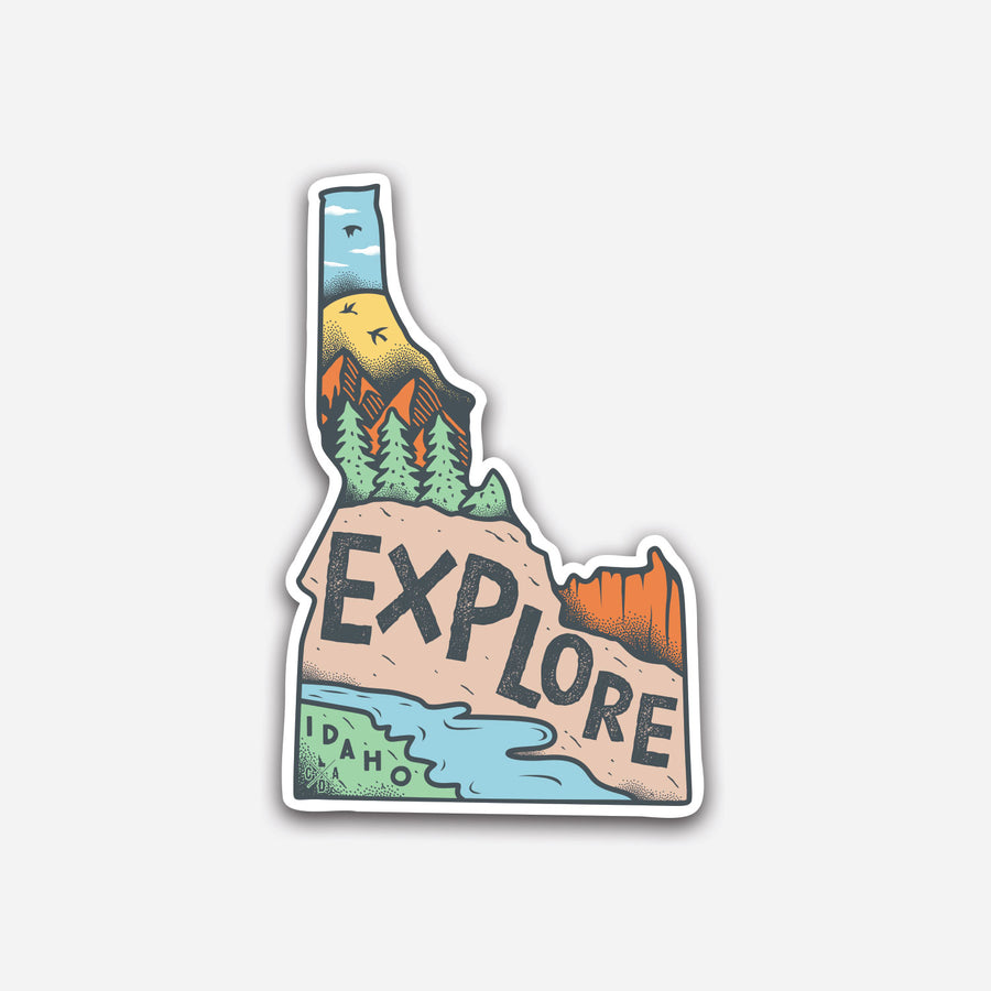 Explore Idaho Sticker