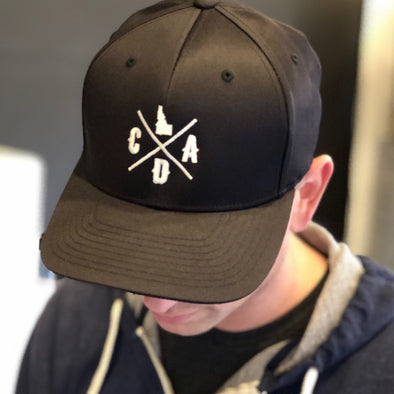 Flex Fit Black CDA Hat