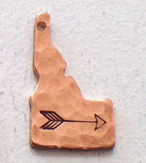 Idaho Hammered Copper Necklaces