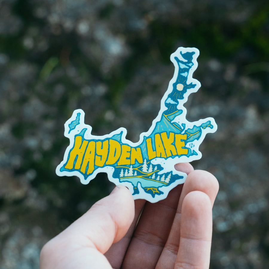 Hayden Lake Sticker
