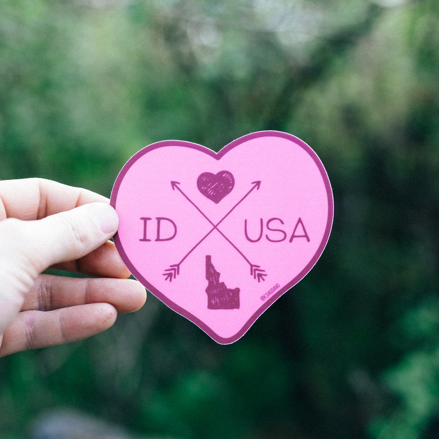 ID Love USA Sticker